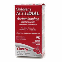 Children's Accudial Pain Reliever/Fever Reducer Acetaminophen Oral Suspension