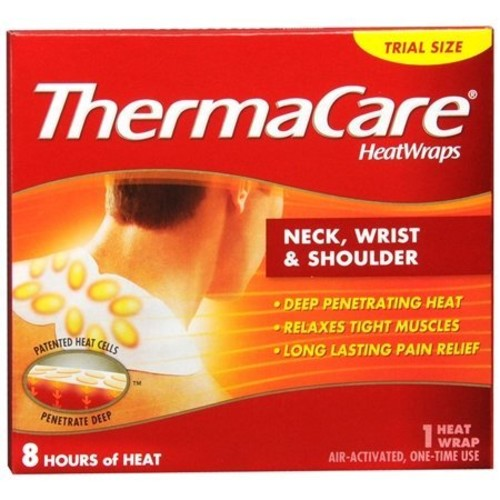 ThermaCare Heat Wraps: Neck, Wrist & Shoulder