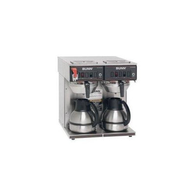 Bunn BUNN 23400. 0047 Thermo Fresh TWIN-Thermal Carafe 120/240V Stainless Steel Funnel Coffee Brewer