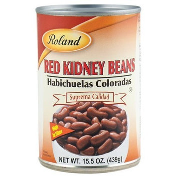 Roland Red Kidney Beans, 15.5-Ounce Cans (Pack of 24)