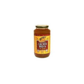 Zoup Low-Sodium Chicken Soup Broth 31 Oz. Jars Pack of 2