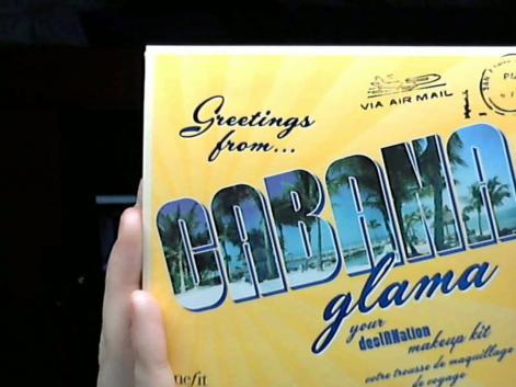 Benefit Cosmetics Greeting from Cabana Glama