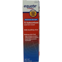 Equate Maximum Strength 1% Hydrocortisone Anti-Itch Cream, 2oz, Compare to Cortizone-10