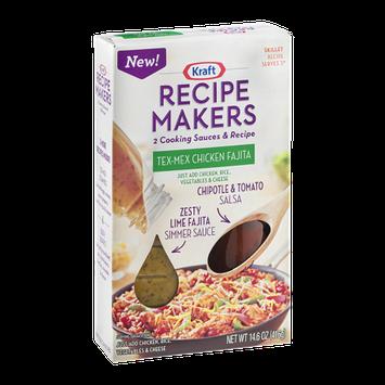 Kraft Recipe Makers Cooking Sauces Skillet Recipe Tex-Mex Chicken Fajita