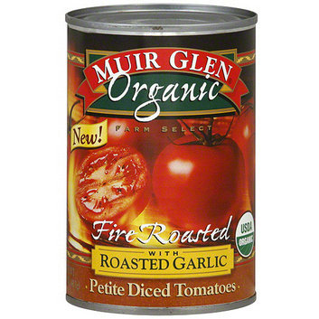Muir Glen Fire Roasted Petite Diced Tomatoes With Roasted Garlic