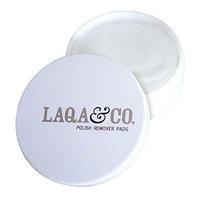 LAQA & CO. Polish Remover Pads