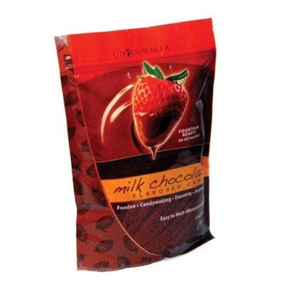 ChocoMaker Inc. Dark Chocolate Flavored Fountain Formula Dipping Candy, 2 Lbs (Pack of 12)