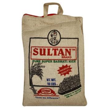 Sultan Basmati Rice, 10-pounds