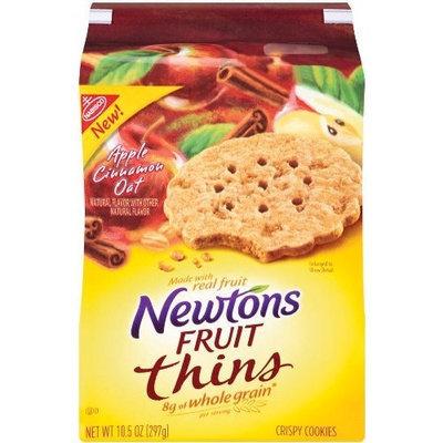 Newton Fruit Thins ton Fruit Thins Apple Cinnamon Oat, 10.5-Ounce