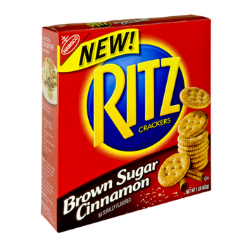Nabisco Ritz Brown Sugar Cinnamon Crackers