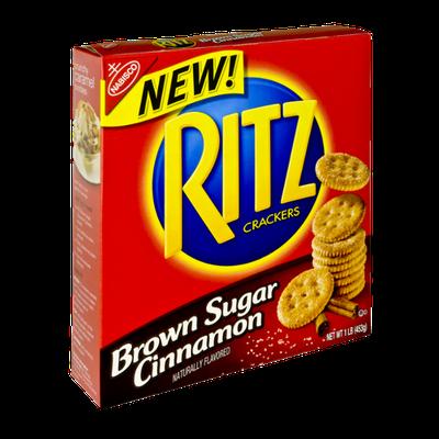 Nabisco RITZ Brown Sugar Cinnamon Crackers