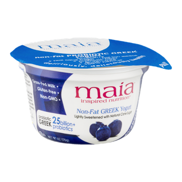 Maia Inspired Nutrition Non-Fat Greek Yogurt Blueberry