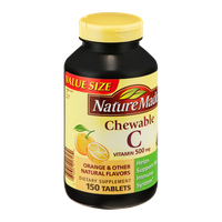 Nature Made C Vitamin 500mg Chewable Tablets - 150 CT