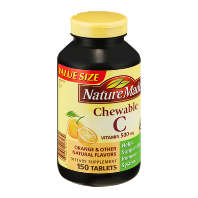 Where Are Nature Made Chewable C Made