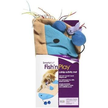 SmartyKat Fish 'n Play Catnip Activity Cat Mat