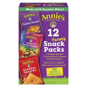 Annie's Homegrown Variety Snack Pack 12 ct