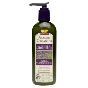 Avalon Organics Facial Cleansing Gel Therapeutic Lavender