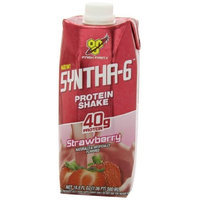 BSN Syntha-6 RTD, Strawberry, 16.9fl-oz Cartons (Pack of 12)