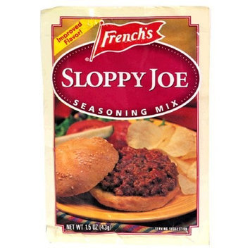 Frenchs French's Sloppy Joe Seasoning Mix, 1.5-Ounce Packets (Pack of 24)