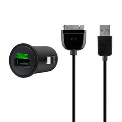 Belkin - 21 Amp Micro Charger for Apple iPad, iPhone and iPod