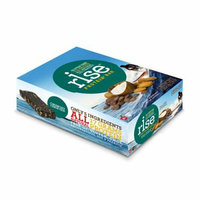 Rise Bar Protein Bar Crunchy Carob Chip Case of 12 2.1 oz