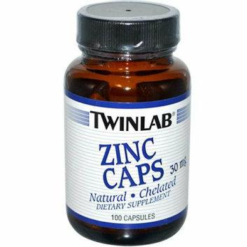 Twinlab Zinc Caps 30 mg 100 Capsules