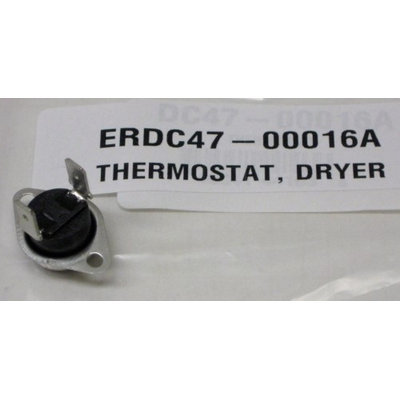 Exact Replacement Parts Dryer Thermostat - Substitute for Samsung DC47-00016A