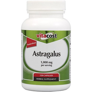 Vitacost Brand Vitacost Astragalus Extract - Standardized -- 1,000 mg per serving - 120 Capsules