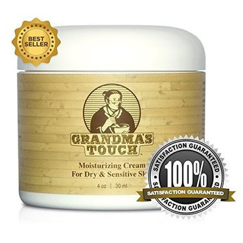 Grandma's Rash Remedy Grandma's Touch Moisturizing Cream - Dry Skin Therapy and Eczema Relief Cream - Heal and Rejuvinate Dry Skin - Powerful Relief for Infants, Kids and Adults - 100% All Natural Ingredients