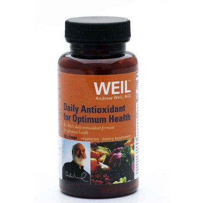 Weil Nutritionals Weil Nutritional Daily Antioxidant for Optimum Health, Vegi-Caps, 60-Count Bottle