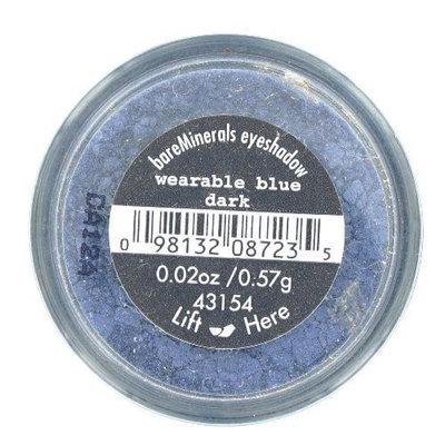 Bare Escentuals Wearable Blue Dark Eye Shadow .57 gr