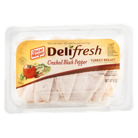 Oscar Mayer Delifresh Turkey Breast Cracked Black Pepper