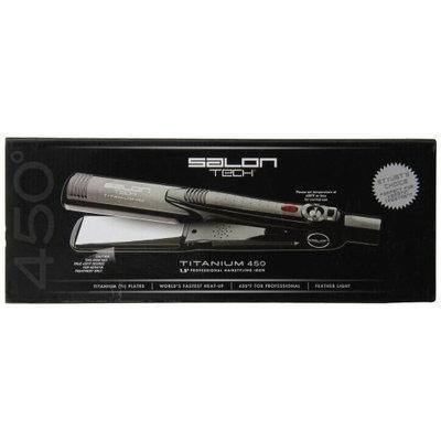 Salon Tech Pfip150 Professional Hairstyling Iron, Titanium 450, 1.5-Inches