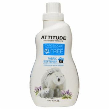 Attitude Fabric Softener, Wildflowers, 33.8 fl. Oz