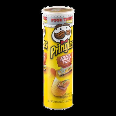 Pringles Potato Crisps Kickin' Chicken Taco