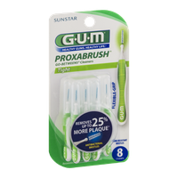 GUM Proxabrush Go-Betweens Cleaners Tight - 8 CT