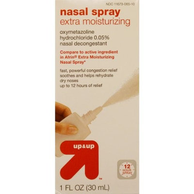 Up & Up Up and Up Nasal Spray Extra Moisturizing Compare to Afrin Extra Moisturizing Nasal Spray