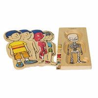 Discoveroo 5-Layer Wooden Puzzle - Boy Ages 3+, 1 ea
