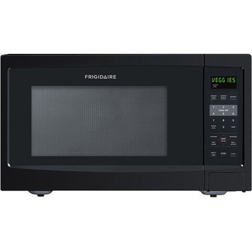 Frigidaire 1.6 Cu Ft 1100W Countertop Microwave Oven, Black