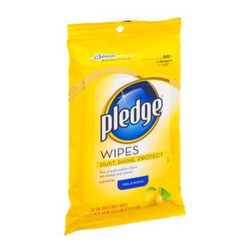 Pledge Lemon Pre-Moistened Wipes - 24 CT
