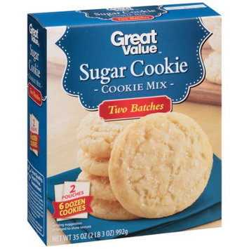 Generic Great Value Sugar Cookie Mix, 35 oz