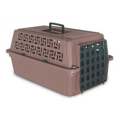 Petmate Pet Escort Kennel from Doskocil Dark Taupe/Black Door