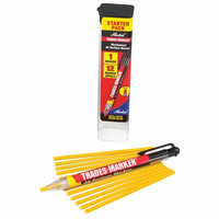MARKAL 96131G Trades-Marker All-Surface Marker, Yellow