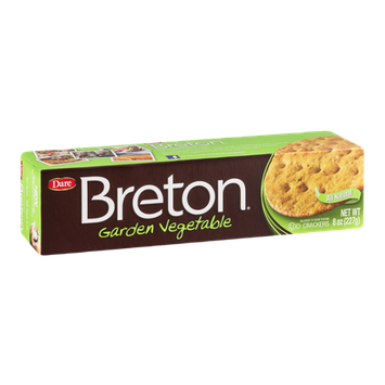 Breton Crackers Garden Vegetable