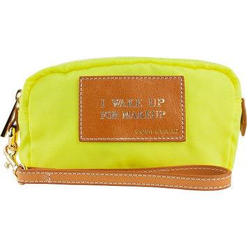 Boulevard I Wake Up for Makeup Cosmic Alpha Makeup Bag Neon Yellow - Boulevard Ladies Cosmetic Bags