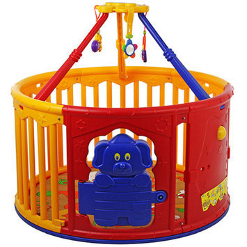 Dream on me Dream On Me Deluxe Circular Playard with Jungle Gym