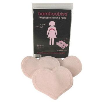 Bamboobies Regular Milk-proof Nursing Pads Value Pack - 6 Pair - Pale