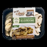 To-Jo Simply Saute Microwavable Mushrooms