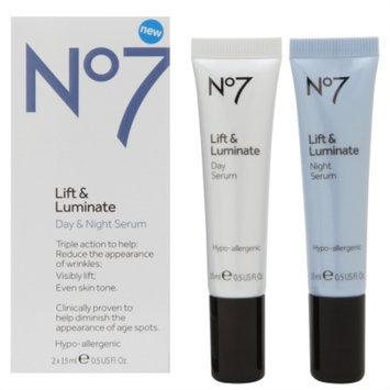 Boots No7 Lift & Luminate Day & Night Serum