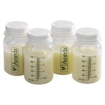 Ameda 4pk Breast Milk Storage Bottle